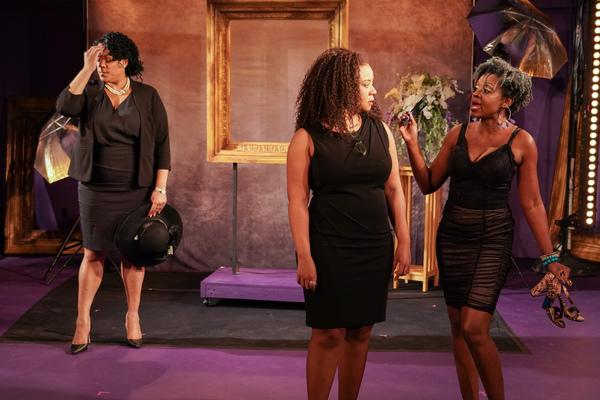 Jennifer Fouche, Ashanti J'Aria, Ebony Marshall-Oliver Photo