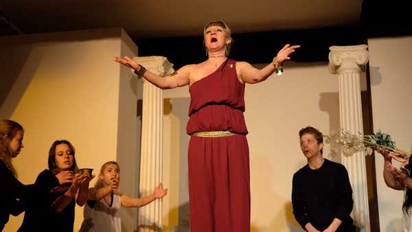 Photo Flash: The Dionysos Theatrical Group Presents OEDIPUS TYRANNUS