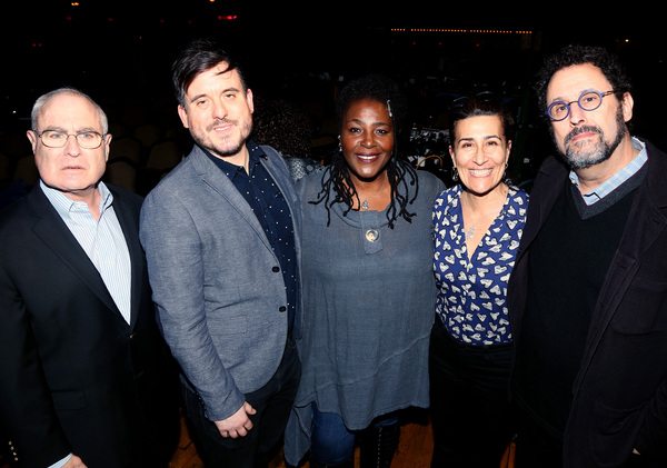 Todd Haimes, Michael Longhurst, Sharon D. Clarke, Jeanine Tesori and Tony Kushner Photo