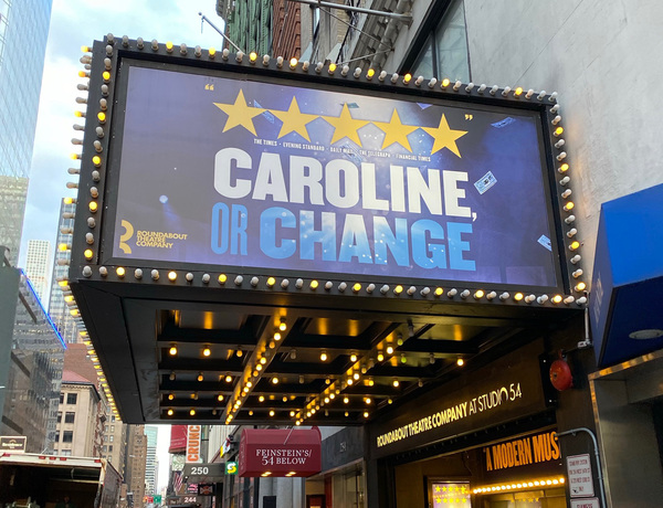 Photo Flash: The Cast and Crew of CAROLINE, OR CHANGE Meet the Press