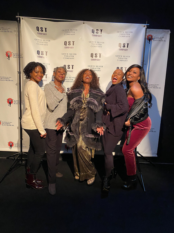 Pascale Armand, Marjorie L. Johnson, Crystal Fox, Brenda Braxton Photo