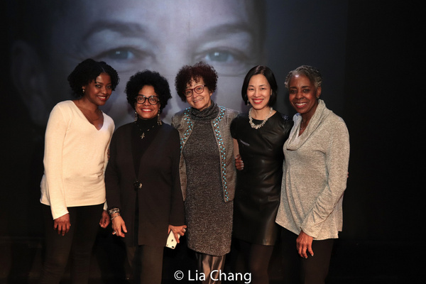 Pascale Armand, Denise Burse, Lizan Mitchell, Lia Chang, Marjorie L. Johnson. Photo b Photo