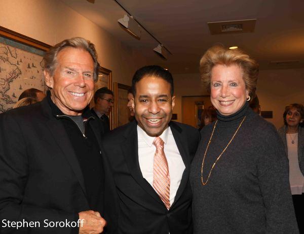 Bill Boggs, Loston Harris, Jane Rothchild Photo