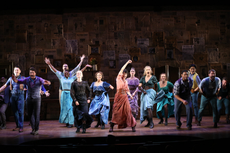 BWW Review: Beth Malone Grandly Skippers New Progressive-Minded Musical Vaguely Resembling THE UNSINKABLE MOLLY BROWN