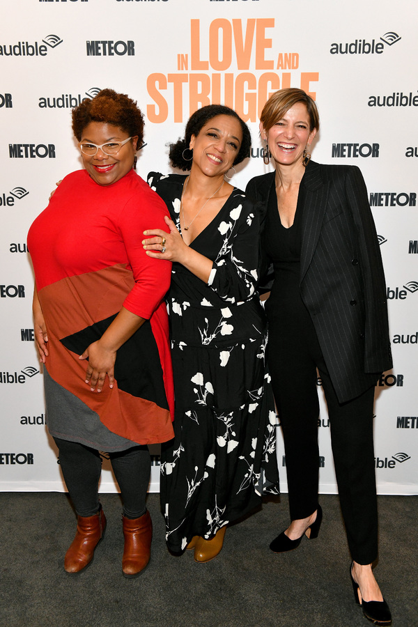Rebecca Carroll, Monica L. Williams and Cynthia Leive  Photo