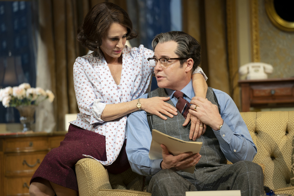 Photo Flash: First Look at Matthew Broderick & Sarah Jessica Parker in Broadway-Bound PLAZA SUITE