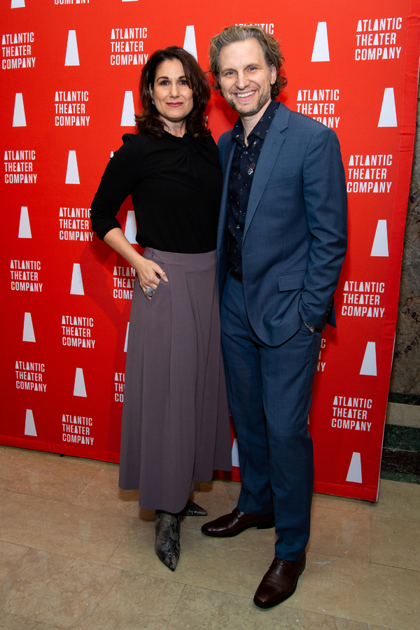Stephanie J. Block, Sebastian Arcelus Photo