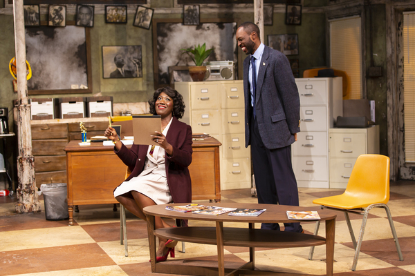 Photo Flash: First Look at RADIO GOLF at Two River Theater