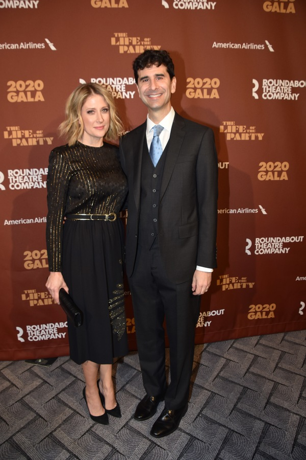 Caissie Levy and John Cariani Photo