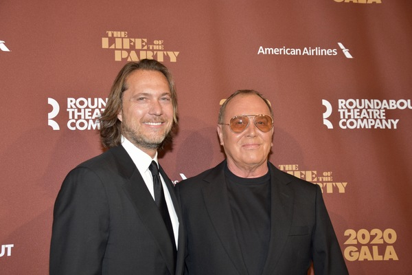 Lance Le Pere and Michael Kors Photo
