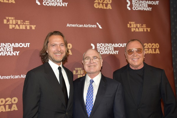 Lance Le Pere, Todd Heimes and Michael Kors Photo
