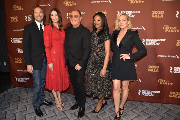 Lance Le Pere, Sutton Foster, Michael Kors, Audra McDonald and Jane Krakowski Photo