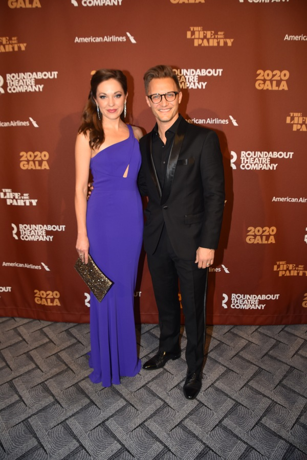 Laura Osnes and Nathan Johnson Photo