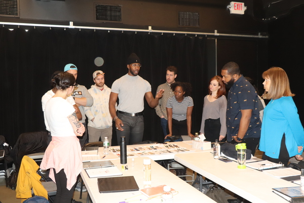 Photos: First Rehearsal of BETWEEN THE BARS at HERE Arts Center