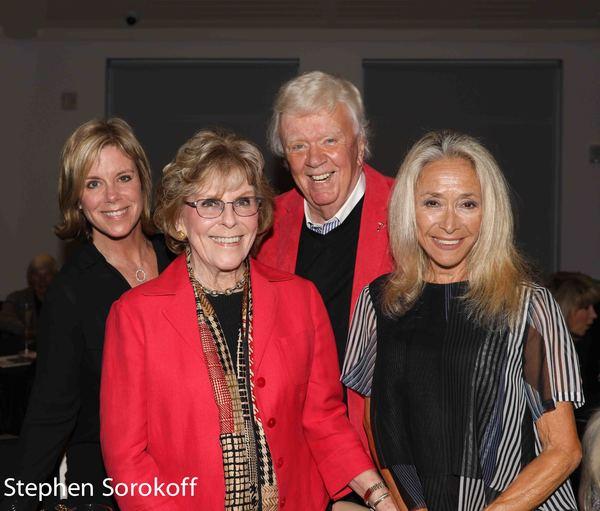 Missy Robinson, Sally Robinson, Dick Robinson, Eda Sorokoff Photo