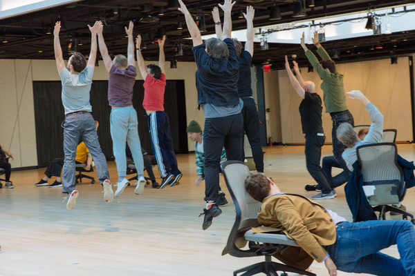 Photo Flash: Inside Rehearsals for Claudia Rankine's HELP at The Shed