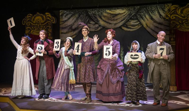 BWW Review: THE MYSTERY OF EDWIN DROOD at Foothill Music Theatre Provides a Rollicking Good Time