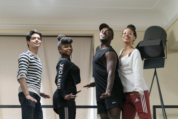 Photo Flash: Inside Rehearsal For CITY OF ANGELS at the Garrick Theatre
