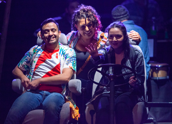 Cristhian Mancinas-Garcia, Nicole Paloma Sarro, and Tanya Avendan?o Stockler in MISS  Photo