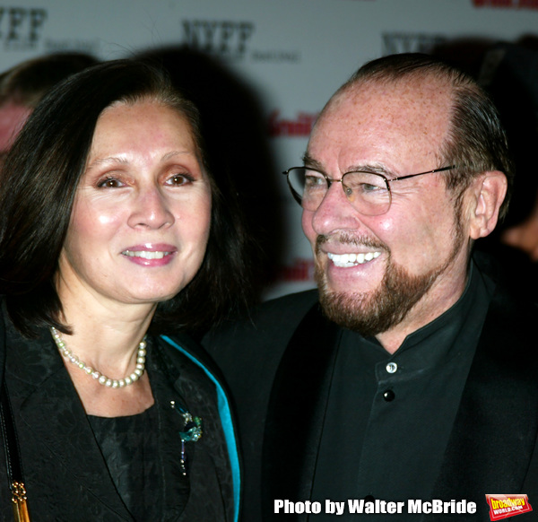 James Lipton and wife attending the Opening Night of The New York Film Festival Premi Photo