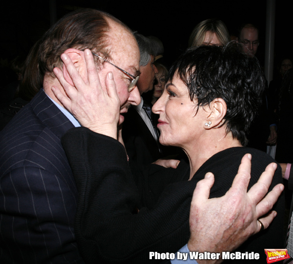 Liza Minnelli & James Lipton attending the afterparty Reception for the Opening Night Photo