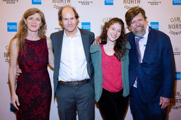 Samantha Power, Cass Sunstein, Kyle Brown, Oskar Eustis Photo