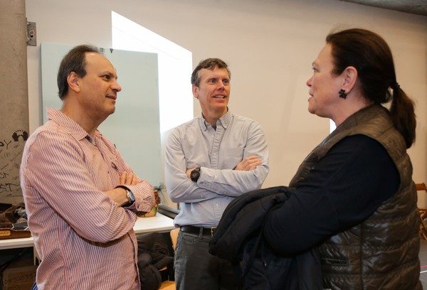 Jonathan Kalb, Will Eno and Caroline Niemczyk Photo