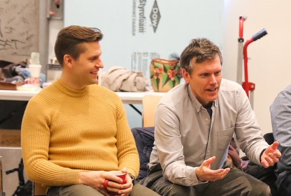 Photo Flash: Inside Rehearsals for TFANA's New York Premiere of Will Eno's GNIT