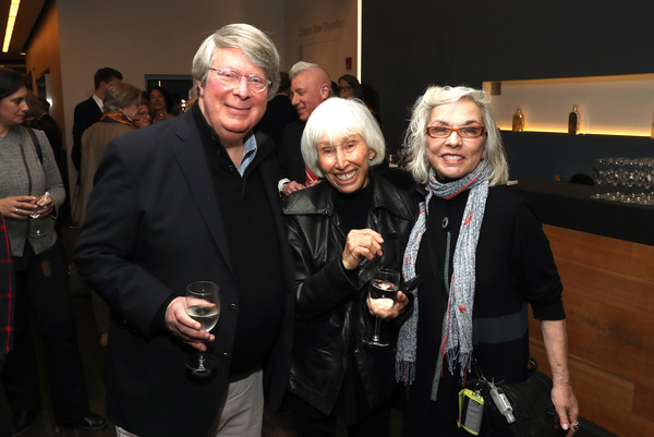 Andre Bishop, Francine Horn and Marsha Norman  Photo