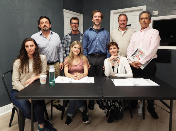 Photo Flash: Go Inside Rehearsals for CHASING JACK Starring Crista Moore