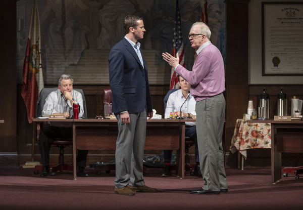 Photo Flash: See Armie Hammer, Tracy Letts, Jessie Mueller and the Cast of THE MINUTES on Broadway
