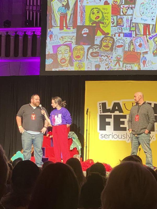BWW Review: FIRST WEEKEND ROUNDUP at Gilda's Club LaughFest With Clean Comedy All-Star Showcase, and Miranda Sings.