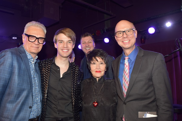 Preston Ridge, Mark William, Warren Carlyle, Chita Rivera and Richie Ridge Photo