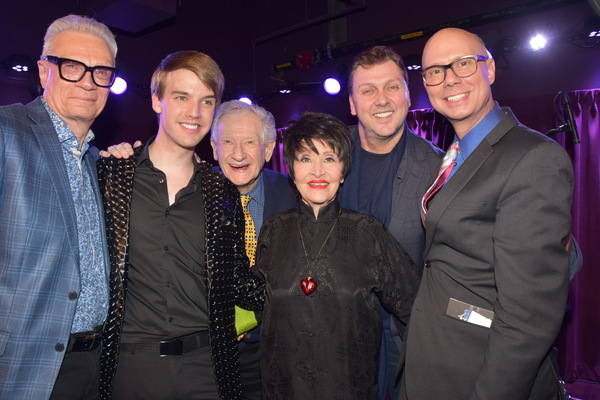 Preston Ridge, Mark William, Harvey Evans Chita Rivera, Warren Carlyle and Richie Rid Photo