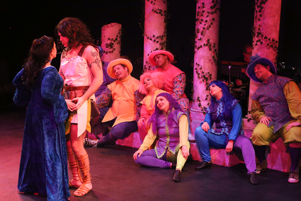 Photo Flash: First Look at New Line Theatre's HEAD OVER HEELS