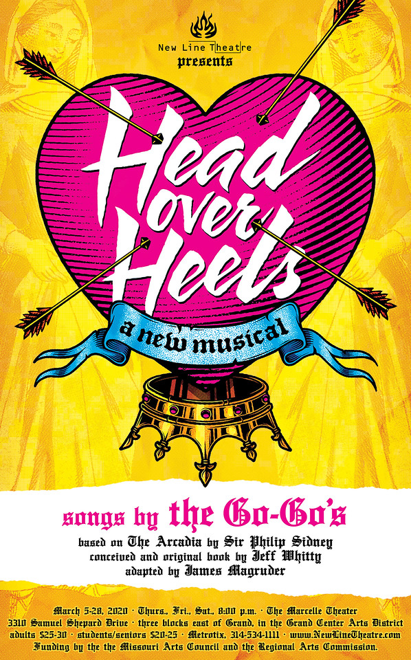 BWW Review:  HEAD OVER HEELS Has a Good Beat and You Can Dance to It.