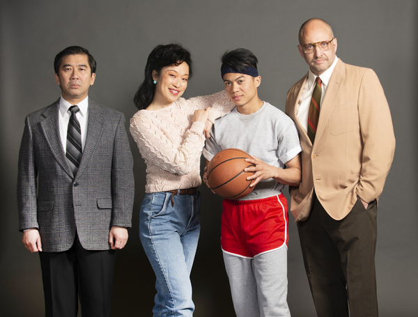 Fenton Li, Helen Joo Lee, Glenn Obrero, and Gregg Weiner Photo