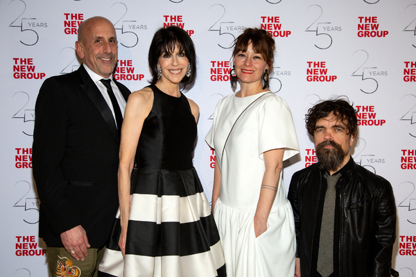 Scott Elliott, Abby Merrill, Erica Schmidt, Peter Dinklage Photo