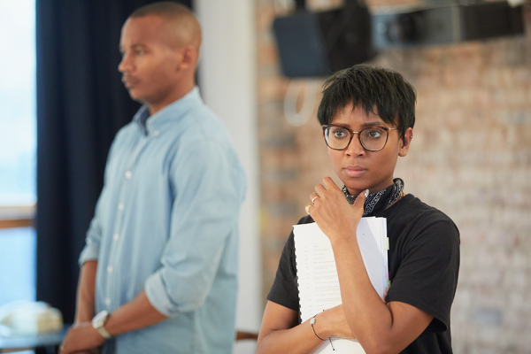 Photo Flash: Inside Rehearsal For 10th Anniversary Production of CLYBOURNE PARK