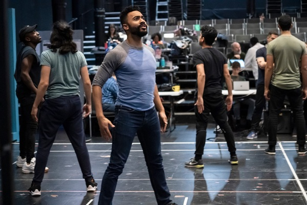 Photos: First Look at Ari'el Stachel, David Hyde Pierce and More in Rehearsals for THE VISITOR at The Public Theater