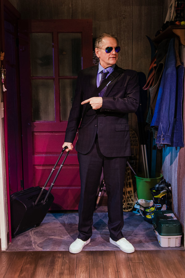 Photo Flash: Check Out New Production Images of Len Cariou and David Lansbury in HARRY TOWNSEND'S LAST STAND