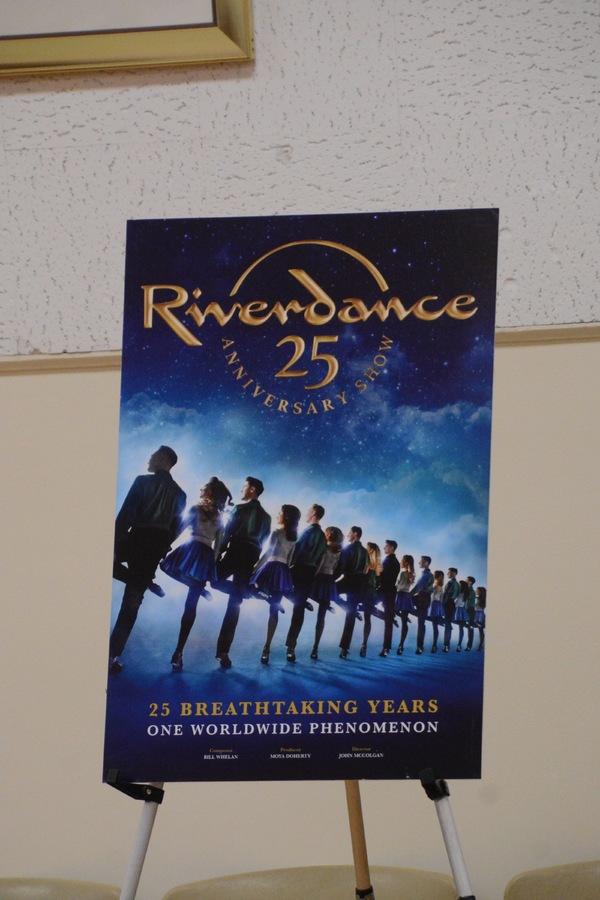 Photo Coverage: RIVERDANCE 25th ANNIVERSARY TOUR  CAST Meets The Press