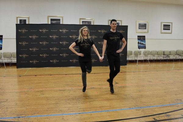 Photos: RIVERDANCE 25th ANNIVERSARY TOUR  CAST Meets The Press
