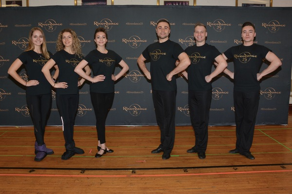 Photo Coverage: RIVERDANCE 25th ANNIVERSARY TOUR  CAST Meets The Press