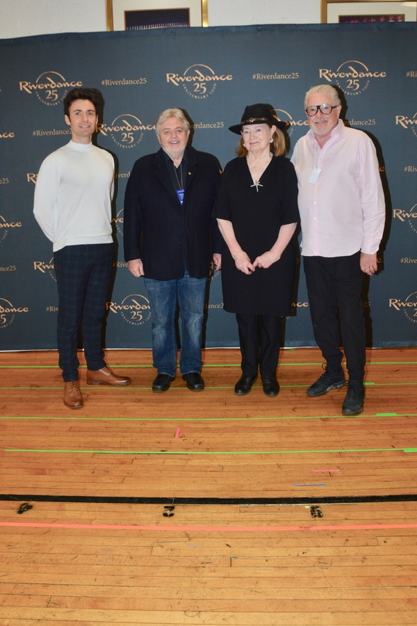 The Creative Team-Padraic Moyles (Associate Director), Bill Whelan (Composer), Joan B Photo