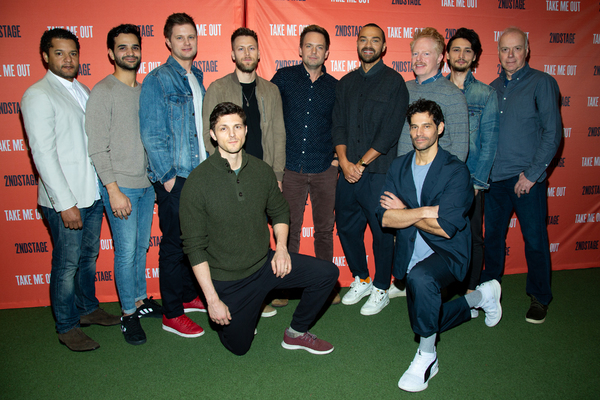 Photo Coverage: Meet the Cast of TAKE ME OUT on Broadway!