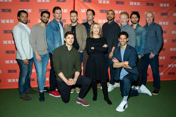 Carole Rothman and the cast of TAKE ME OUT Photo