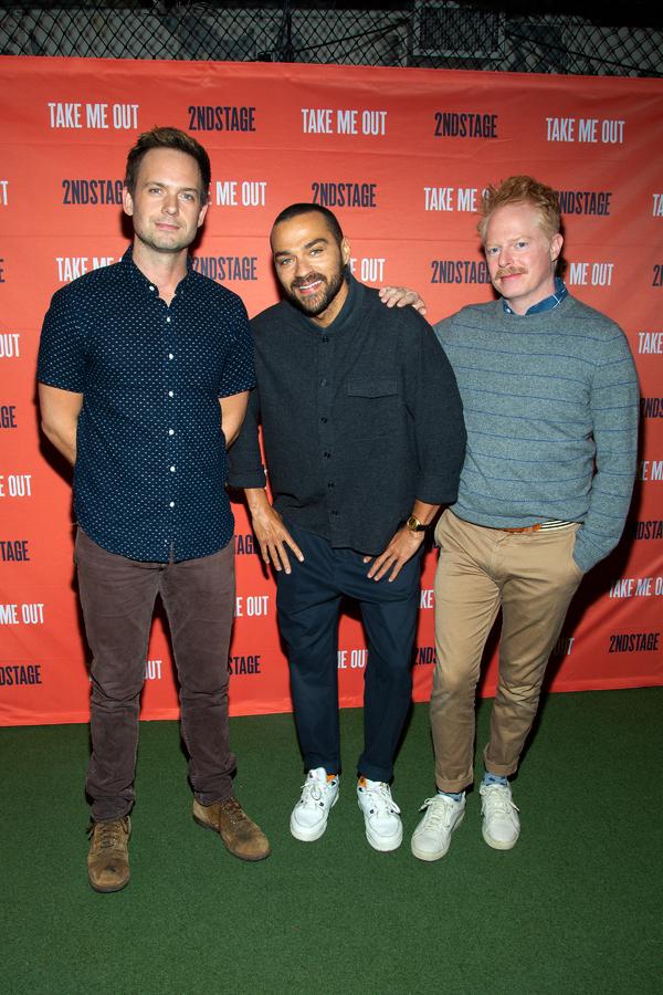 Patrick J. Adams, Jesse Williams, Jesse Tyler Ferguson Photo