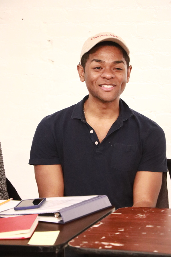 Photo Flash: First Rehearsal for Cherry Lane Theatre's ESAI'S TABLE