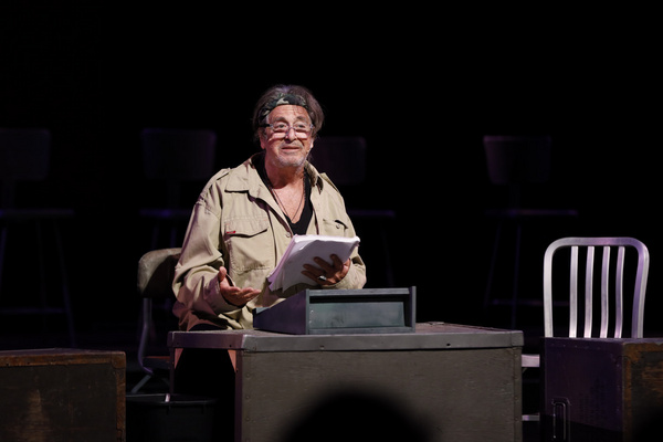 Photo Flash: Al Pacino Headlines Staged Reading Of THE BASIC TRAINING OF PAVLO HUMMEL